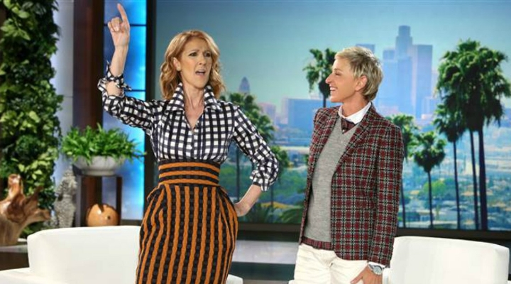 WATCH CELINE DION COVER NELLY, MISSY ELLIOTT, AND BRITNEY SPEARS ON 'ELLEN'